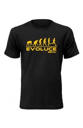 Pánské tričko Evoluce Běhu