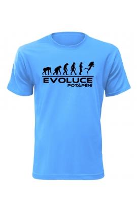 Pánské tričko Evoluce Potápění
