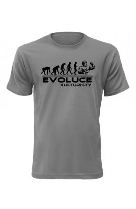 Pánské tričko Evoluce Kulturisty