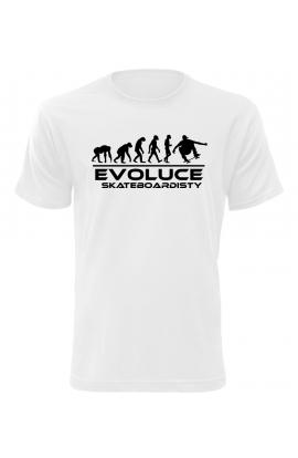 Pánské tričko Evoluce Skateboardisty