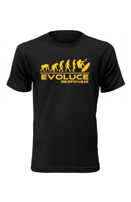 Pánské tričko Evoluce Serfování