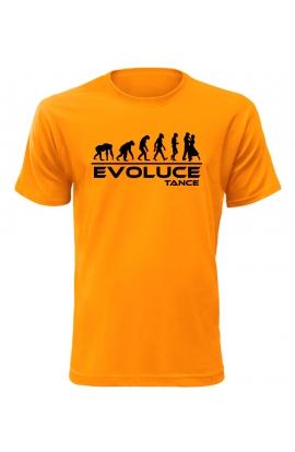 Pánské tričko Evoluce Tance