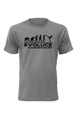 Pánské tričko Evoluce Krasobruslení