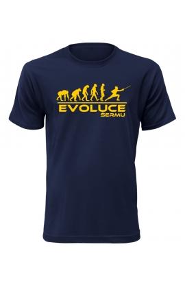 Pánské tričko Evoluce Šermu