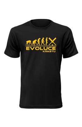 Pánské tričko Evoluce Kriketu
