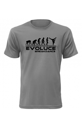 Pánské tričko Evoluce Breakdance