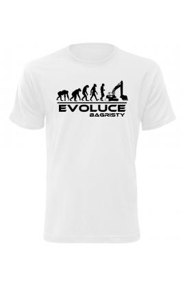 Pánské tričko Evoluce Bagristy