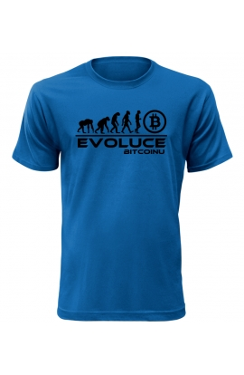 Pánské tričko Evoluce Bitcoinu