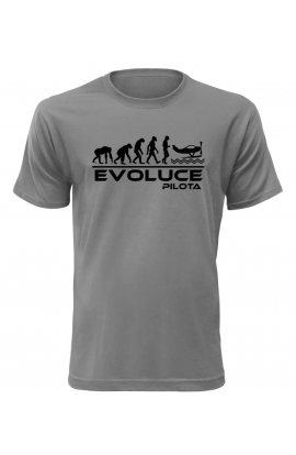 Pánské tričko Evoluce Pilota