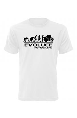 Pánské tričko Evoluce Fotografa