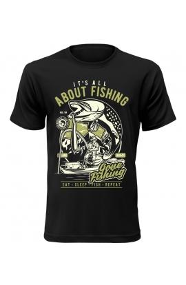 Pánské tričko s rybářským motivem About Fishing