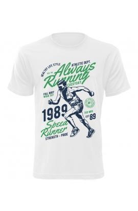 Pánské tričko Always Running