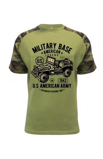 Pánské armádní tričko American Army a5a249b951