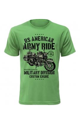 Pánské tričko US American Army Ride