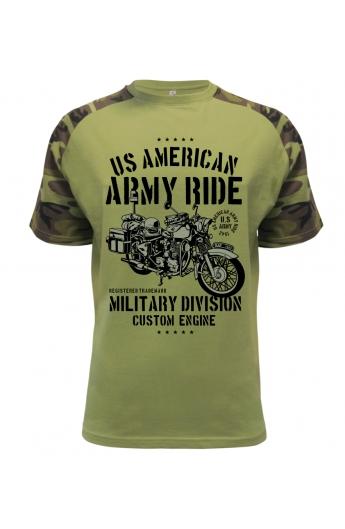 30be1b1db3db Pánské tričko US American Army Ride