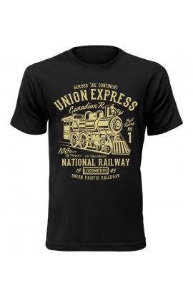 Pánské tričko s vlakem Union Express