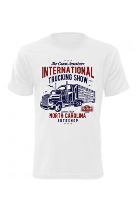 Pánské tričko s kamionem Trucking Show